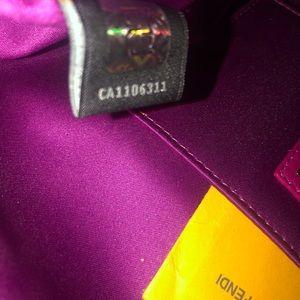 Fendi Bags - Vintage Fendi Nappa Shoulder bag - Fuchsia